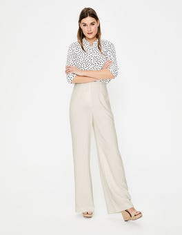 Ivory Tiverton Trousers