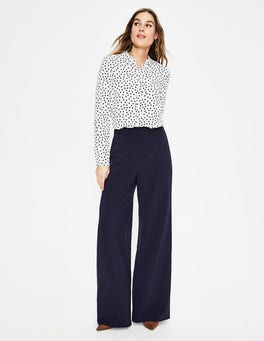 Navy Tiverton Trousers