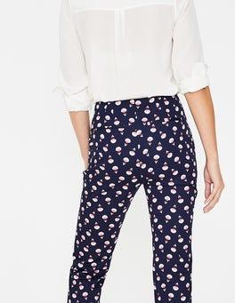 Navy, Falling Carnival Blossom Ledbury Trousers