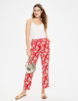 Red Pop, Jungle Palm Bembridge Pants