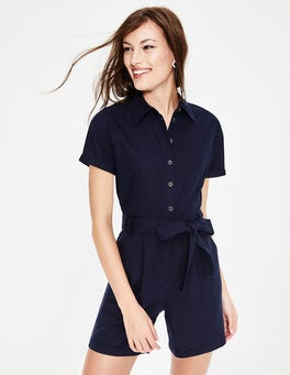 Navy Lucinda Playsuit