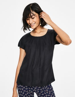 Black Ravello Top