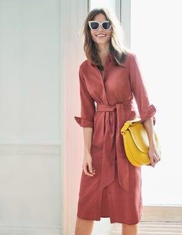 Freya Hemdblusenkleid aus Leinen