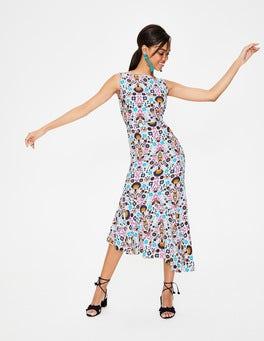 23d24b3783 Ivory Carnival Floral Tessa Midi Dress