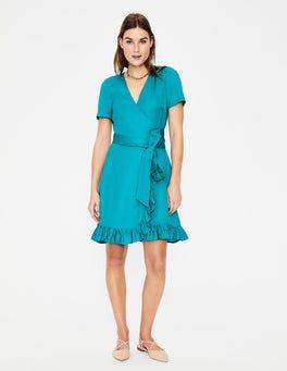 Ultramarine Federica Wrap Dress
