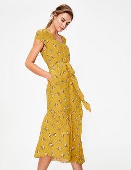 Dijon Wild Posy Amy Midi Dress