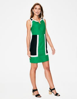 Highland Green Anita Linen Dress