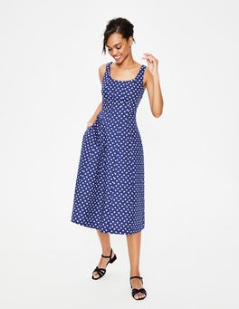 Lapis Spot Star Sabina Midi Dress
