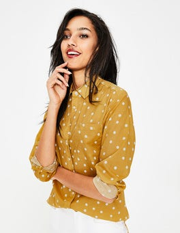 Dijon Scattered Dot Audrey Girlfriend Shirt