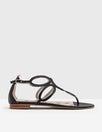 Sandalen mit Kreisdesign