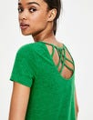 Olivia Linen Jersey Tee by Boden
