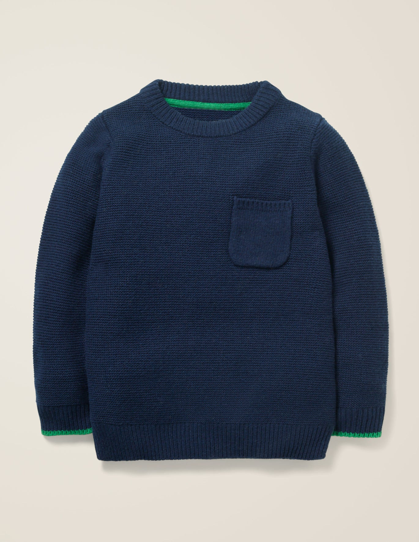 Essential Crew Sweater by Boden