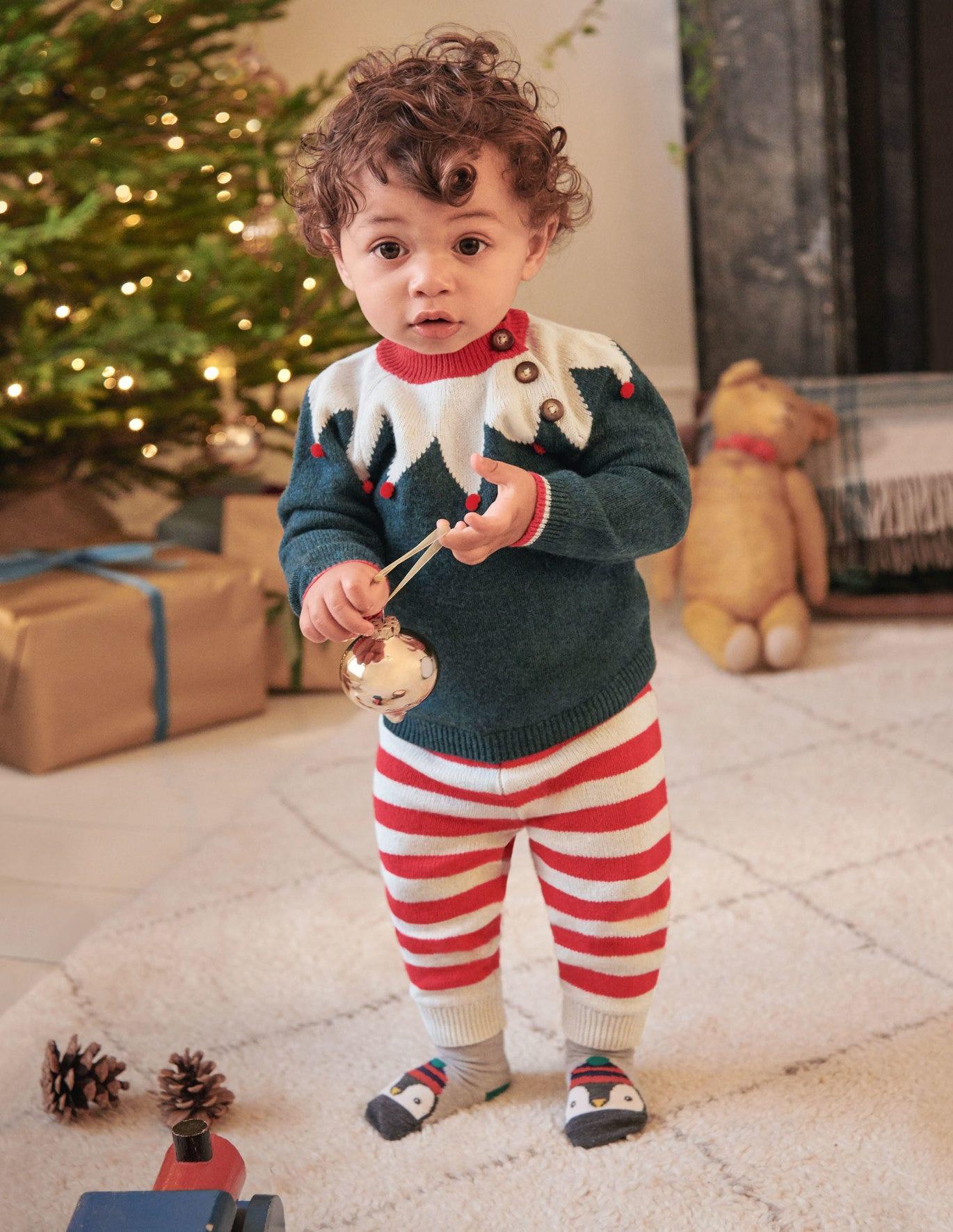 Novelty Knitted Play Set - Linden Green Elf