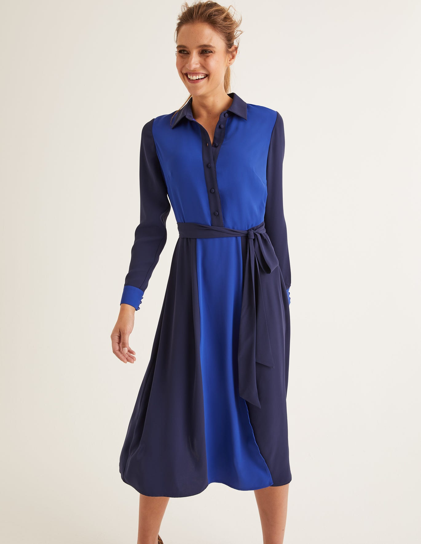 Betty Midi Shirt Dress by Boden