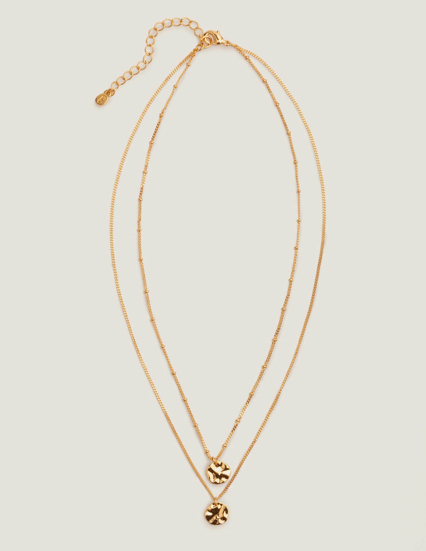 Delicate Layered Necklace - Gold