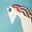 Blue Rainbow Unicorns