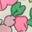 Knockout Pink Vintage Floral