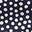 Navy/Ivory Scatter Spot