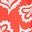 Red Pop & Ivory Falling Petal
