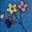 Elisabethanisches Blau, Blüten