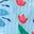 Jardin et toucan bleu quartz