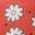 Jam Red Daisy Dot