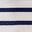 College Blue Rainbow Stripe