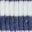 White/Starboard Blue Stripe