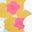 Blue Quartz Tropical Floral