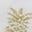 White/Gold Foil Pineapple