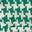 Carreaux pied-de-poule vert randonnée