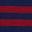 Navy Blue/Sumac Stripe
