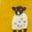 Mustard Yellow Baby Sheep