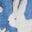 Elizabethan Blue Wild Bunnies