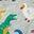 Grey Marl Multi Dinosaurs
