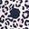 Navy Leopard Spot