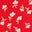 Rouge boîte aux lettres, motif Ditsy Petal