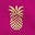 Magenta Pineapple