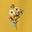 Dijonsenfgelb, Wildblumensträuße