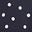 Navy Scattered Dot