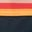 Navy/Rainbow Stripe