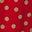 Weihnachtssternrot, Zufällige Tupfen