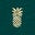 Woodland Green/Gold Pineapple