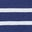 Lapis/Ivory Stripe