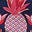 Navy, Tropical Fruit