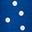 Kobaltblau & Naturweiß, Verstreute Tupfen