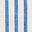 Ivory & Cyan Stripe
