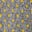 POW-Karo mit gelbem Flockdruck