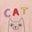 Milkshake, motif Cat Person