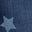 Mittleres Vintageblau, Stern
